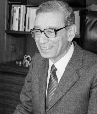 Courtesy United Nations: Boutros-Gali first day in post - 1962