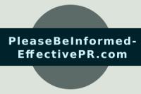 Please Be Informed - Effective PR