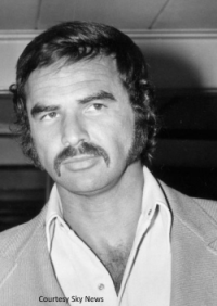 Burt Reynolds - image courtesy of Sky News