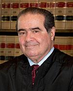 Supreme Court Justice Scalia - image courtesty US Supreme Court