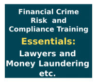 Essentials - money laundering - lawyers - financial crime risk and compliance training