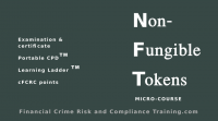 Financial Crime Risk and Compliance Training - e-learning - micro-course - non-fungible-tokens
