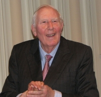 Roger Bannister © Pruneau / Wikimedia Commons, via Wikimedia Commons